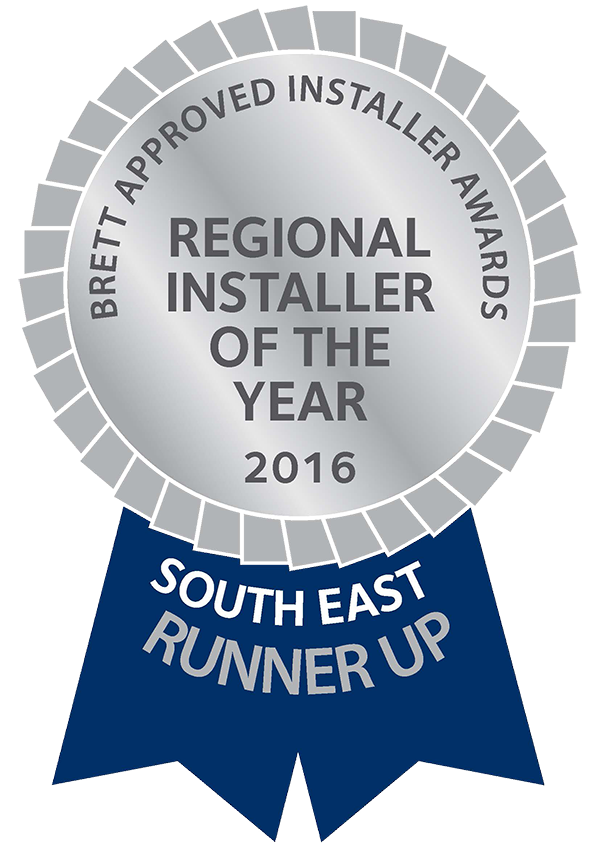 Reginal Installer of the Year Runner Up 2016